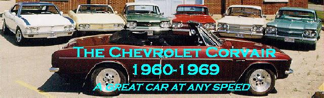 The Chevrolet Corvair 1960-1969 - A great car at any speed!