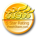 SpotAuditor 5 Stars Award on FlashShareware.com