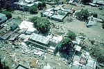 Armero, Colombia, destroyed by lahars on November 13, 1985