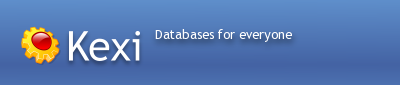 Kexi: Databases for everyone