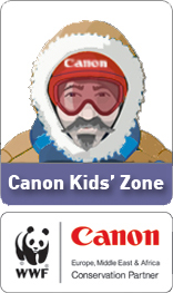 Check out the Canon Kids' Zone
