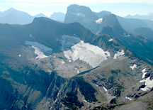 Swiftcurrent Glacier from Swiftcurrent lookout, USGS photo