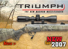 Triumph, The new magnum muzzleloader