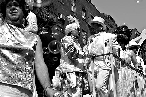 The Gay Pride Parade in New York
