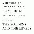 A History of the County of Somerset: Volume 8