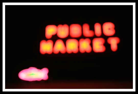 Pike Place Market Blur