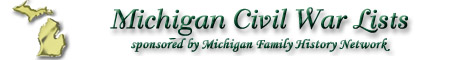 View Civil War Files for all of Michigan!
