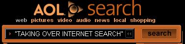 aol.com lists the top site for taking over internet search