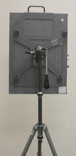 Flat foX-17 panel on Tripod