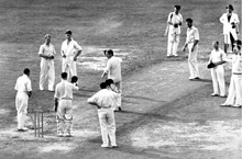 Don Bradman's farewell innings