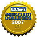 U.S. News and World Report: America Best Colleges 2007