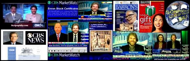 Scripophily has been featured on CNN, CNBC, CBS, WSJ, Barrons, and many other fine publications