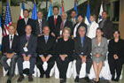 Several members of the U.S. delegation to the U.S.-SICA Dialogue on Security. State Dept. photo.