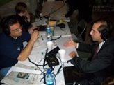 Deputy Secretary Alex Azar participates in Pentagon Radio Day by giving live interviews from the Pentagon to radio stations across the country on the five year anniversary of the terrorist attacks.