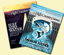 2 Free issues of High Country News