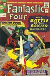 Often listed as the best FF story ever - The Battle of the Baxter Building, cover by Jack and Vince