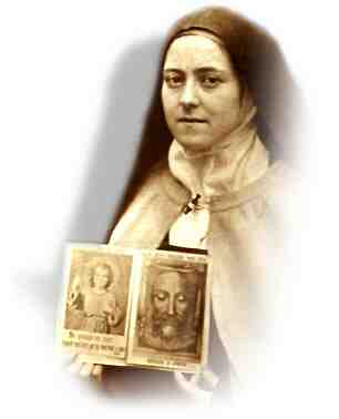 [photograph of Saint Therese of Lisieux]