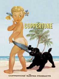Coppertone Girl Still Alive