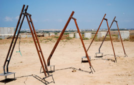 Kassam launchers found in Bet Hanoun in Gaza - Sept 6 (IDF Spokesman)