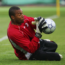 Dida has been banned by UEFA for two games