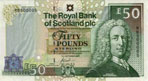 Front of the Gogarburn commemorative banknote, 2005.