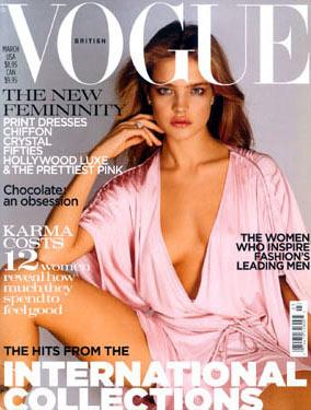 Natalia Vodianova - Natalia for British Vogue