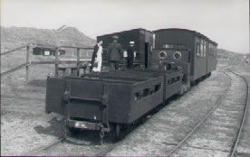 Harty Ferry wagons in passenger use