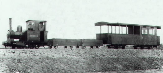 """Camber"" has been reversed and is heading for Rye. Surely a truly incredible picture showing the earliest wagons used for carrying sand, fish and parcels."