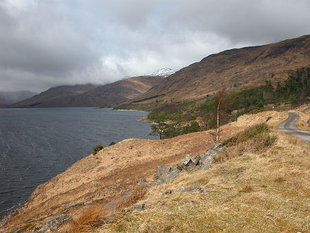 The Raised Water Levels of Loch Quoich Today