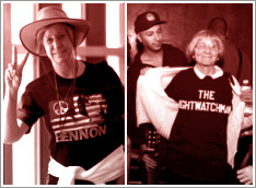 The Mary Morello and Cindy Sheehan Show