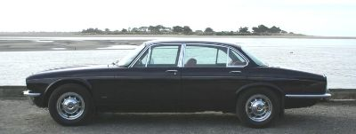 1975 Daimler Sovereign.