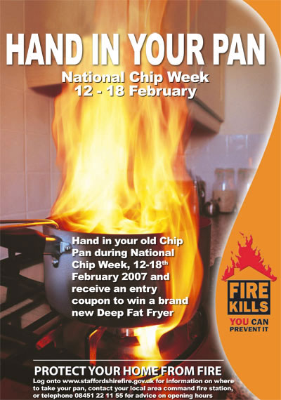 Hand in your pan: Chip Pan Amnesty!