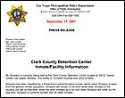 Clark County Detention Center Inmate/Facility Information