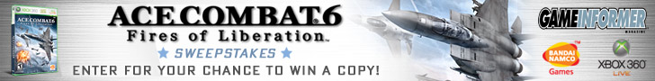 Ace Combat 6 Sweepstakes
