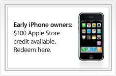 $100 Apple Store Credit for Early iPhone Owners