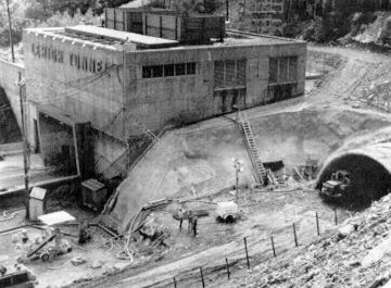 Tunneling operations at Lehigh Tunnel