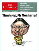 Current cover story: Time's up, Mr Musharraf
