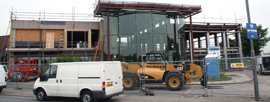 New building work at Rhyl