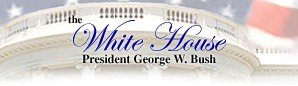 Link to the White House -- The President of the United States Seal