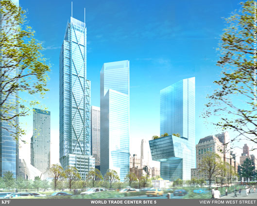 WTC tower plans