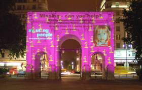 International Missing Children's Day - Page 3 Missing_people_charity__ribbon_projection_5_bm_web_res
