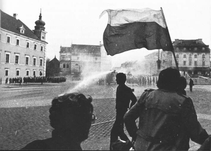 Riot in Warsaw