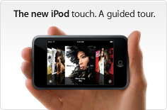 The new iPod touch. A guided tour.
