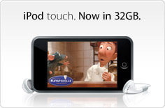 Now there's even more to touch. iPod touch.