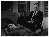 """William Bendix and Martin Balsam in """"The Time Element"""""""