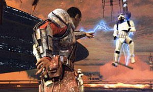 screen shots of Star Wars: The Force Unleashed