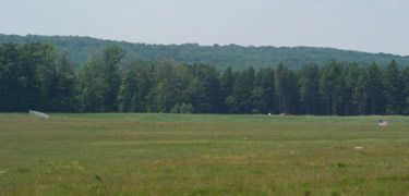 View of the Flight 93 Crash Site