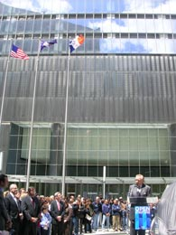 Silverstein proclaimed 7 WTC officially open