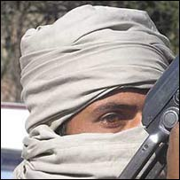 A militant in Swat district