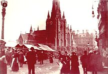 St. Martins Church in Victorian times